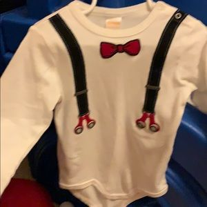 NWOT Gymboree size 18-24 month long sleeves onesie